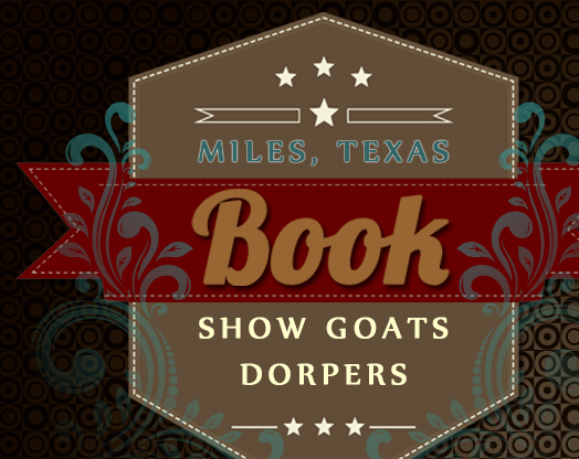 Book Show Goats & Dorpers